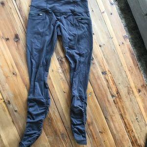 Lululemon insight pant -ruched bottom- charcoal